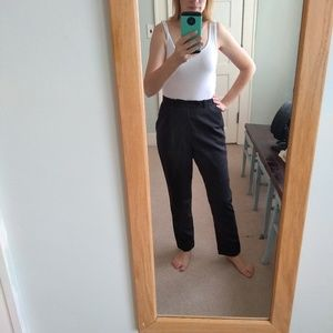 Reformation pin striped pants